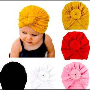 Baby Girl Pre-Tied Head Turban